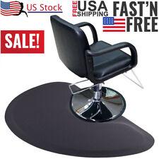 US Anti Fatigue Hair Stylist Mat Beauty Salon Equipment Barber Chair Floor Black