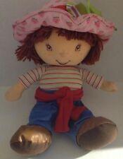 Talking Plush Strawberry Shortcake Doll Soft 15 Inches