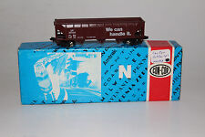 CON COR N SCALE UNION PACIFIC UP HANDLE IT #30134 TRIPLE-BAY GONDOLA, NICE,BOXED