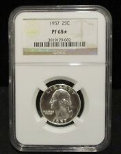1957 Washington Silver Quarter - NGC PF 68* - 002   ENN COINS
