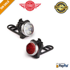 Usb Rechargeable Bike Light Set Super Bright Front and Rear Led Bicycle Ascher