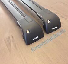 New Thule Aeroblade Edge 2x7602B Black w/Locks+Keys. Free shipping!