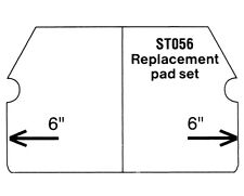 Superior Tile Cutter Replacement Pad Set ST003 and ST004 19920
