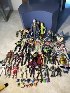 Mixed Action Figure Lot Spawn Power Rangers Dragonball Z Robots Monsters