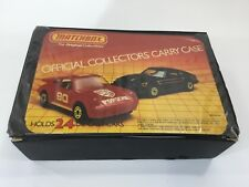 Collection of 20 Collector Matchbox Cars and Trucks With carrying case