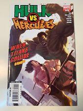 HULK VS HERCULES-WHEN WORLD'S COLLIDE ONE-SHOT-FINE-VF+ Free Shipping
