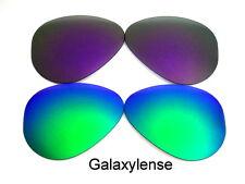 Galaxie rechange lentilles pour Ray-Ban RB3026 Aviateur Vert & Violet 62mm