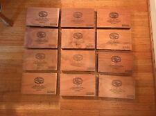 Padron Decorative Wooden Cigar Boxes - Exclusivo-Lot Of 12