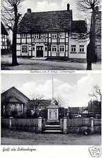 2157/ Foto AK, Lichtenhagen, Ottenstein, Gasthaus Dröge, Kriegerdenkmal ca. 1935