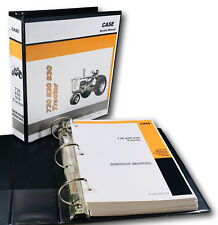 Case 730 731 732 733 734 Draft-O-Matic Tractor Service Manual Shop Book-Overhaul