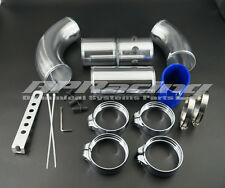 Universal 3 Inch Aluminium Air Filter Turbo Intake Intercooler Piping Kit Pipe
