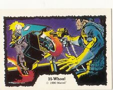 1990 COMIC IMAGES MARVEL GHOST RIDER CARD #34 WHOA!