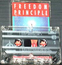 FREEDOM PRINCIPLE ACID JAZZ & OTHER ILLICIT GROOVES V 2 CASSETTE RENEGADES JTQ