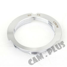 Camera Adapter For Leica M39 Screw Mount LSM LTM L39 Lens To Leica M 50-75mm