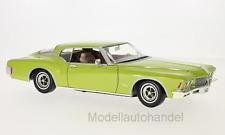 Buick Riviera GS, metallic-hellgrün, 1971  - 1:18 Lucky Die Cast *NEW*