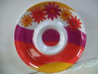 """Walmart Design Chip and Dip 13"""" Warm-Color Plastic Serving Platter Bowl"""