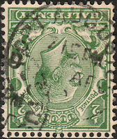 "GB - KGV 1912/24 "" FORT AUGUSTUS "" (Highlands, Scotland) CDS on SG351 1/2d green"