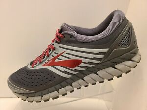 Brooks Beast 18 DNA Men's Running Shoes - Gray/Red - Size 14 D