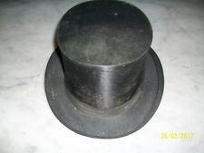 Alter Zylinder Chapeau Claque - DRUCKFREI   Klapphut 1900