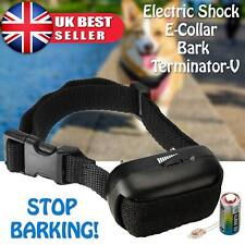 More details for electric shock anti bark dog e-collar stop barking pet training collar control