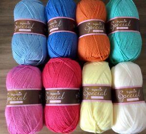 Stylecraft Special DK Wool/Yarn Knitting/Crochet Pack 8x100g Springtime