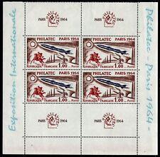 4 PHILATEC Paris 1964, Neufs ** = Cote 120 € / Lot Timbres France 1422