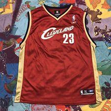 LeBron James Cleveland Cavaliers Jersey Boys Youth XL NBA Reebok #23