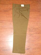 Mens 70's Authentic Farah Premium Master Weave Green 35x28 Dress Pants Slacks!!!