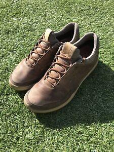 Ecco Mens Brown Biom Hybrid 3 Golf Shoes Size UK 7.5