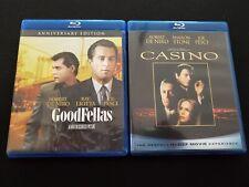 Goodfellas (New 4K Scan) & Casino Blu-Ray Lot