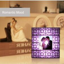 Building Blocks Photo Frame Night Light LED Bedside Mood Lighting