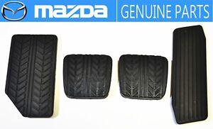 MAZDA GENUINE OEM RX-7 SAVANNA FC3S Foot Rest & Clutch&Brake & Gas Pedal Pad