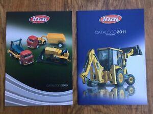 2 x JOAL colour catalogues 2010 & 2011 Construction Trucks Helicopters Coaches