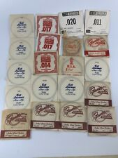Vintage Pedal Steel Guitar Strings,Fender,Ernie Ball,Bill Lawrence,ZB,Gibson