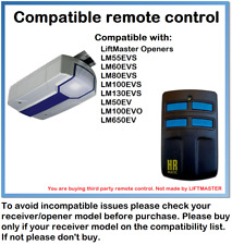 Compatible Remote Control with Chamberlain ML510EV Basic, ML700EV Comfort 868MHz