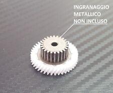 Ingranaggio in nylon per motoriduttore stufa a pellet MK Merkle Korff 3,3 rpm