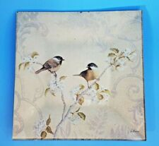 New listing Jill Schulz Mcgannon Cni Design By Art In Motion Art Glass Plates 9� Square Set