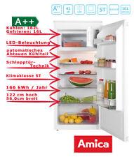 Amica EKS 16174 Weiß Einbau Kühlschrank mit 4* Gefrierfach A++ 178L Schlepptür