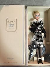 "Barbie Gold Label Collection Silkstone Fashion Model Doll ""Walking Suit"" BNIB"