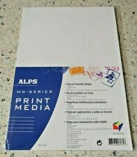 Alps MD-5000 MD-5000P Printer - Iron On Transfer Sheets Quantity 10 x A4 Sheets