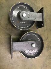 "2 Hamilton R-CH-13FSB Caster Wheels,  10""x 3"""