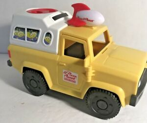"""Imaginext Mattel 2011 Pizza Planet Delivery Shuttle Truck From Toy Story 8-1/2""""L"""