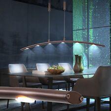 LED 30 Watt Hänge Leuchte Ess Zimmer Beleuchtung höhenverstellbar Metall Bronze