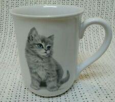 ADORABLE! Vintage Otagiri Jonah's Workshop KITTEN Coffee Tea Cup Mug.
