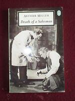 Arthur Miller DEATH OF A SALESMAN inc original London cast list Penguin PB 1961