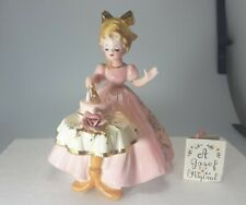 """Josef Originals Leslie """"The Birthday Party"""" Girl With Tag, 6"""""""