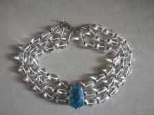 Collares y colgantes de joyería gargantilla de oro blanco diamante