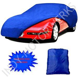 C4 CORVETTE SEMI CUSTOM CAR COVER BLUE 1984 THRU 1996