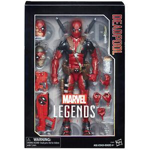 Marvel Legends DEADPOOL Figure 12-Inch Deluxe Hasbro 2018 X-Men Avengers Uncanny