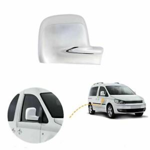 For VW Caddy wing mirror cover cap chrome / Right BA09R